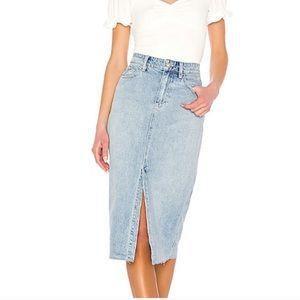 FP We the Free Denim Skirt size 24